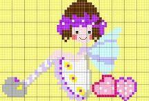Cross Stitch: Kids / Patterns for Babys & Children / by Christel Krampitz