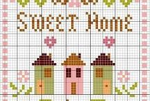 Cross Stitch: Home Sweet Home / by Christel Krampitz