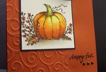 Cards - Fall / by Sheila Barfield