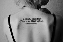 Tattoos / by Kathi Shearer