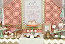 Vintage Bicycle Party Ideas / by Kara Abrahamsen Lillian Hope Designs