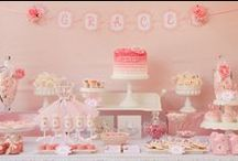 Ballerina Party Ideas / by Kara Abrahamsen Lillian Hope Designs