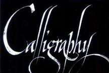Calligraphy / by Fumitaka Miyazato