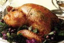 Thanksgiving Recipes  / Let's talk turkey: From the main course to stuffing, side dishes, gravy and dessert, these recipes will make your Thanksgiving feast a hit. / by Cooking.com