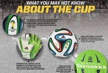 2014 World Soccer / The count-down to #Brazil2014 starts now! Represent your country's colors with a variety of looks.  / by Eastbay