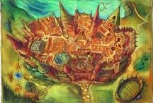 Mssrs. Moony, Wormtail, Padfoot, and Prongs present... / Hufflepuff and proud, but I love all the houses. Hogwarts is my home. It's real for us. / by Rachel Phelps