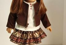 doll clothes ideas / by Bev McAllister