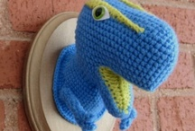 Craft: Crochet / Geek and nerd stuff, afghans, amigurumi, clothes, winter gear, and more! / by Abby Cobb