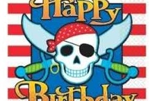 Pirate Birthday Party Ideas pirate-party / Lots of ideas for a pirate-themed birthday party.  Pirate party favors, decorations, cake ideas, invitations and so much more!  Visit:  http://www.squidoo.com/pirate-birthday-party-favors  #ppgpirate / by potpiegirl