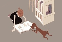Mini Bookworm / Children are made readers in the laps of their parents. / by Sarah