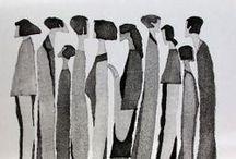Illustration / by Gloria Pizzilli