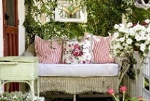Porches I heart / by Isabelle - Romantic at Heart