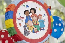 Caillou Party / So many new things to do when you choose our Caillou party theme. / by Birthday Express