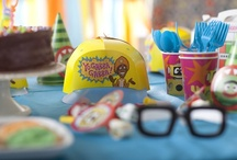 Yo Gabba Gabba Party Ideas / Get the sillies out and dancey dance with the Yo Gabba Gabba birthday party theme! #Cake #Activities #Decor #PartySupplies #Favors #Cups / by Birthday Express