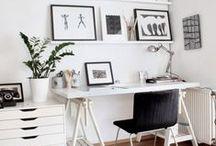 Studio Space Inspiration / by Rachel Bonness Design