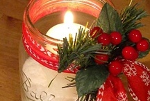 Christmas and yule tide  / #xmas #holidays  / by Heather Hacking