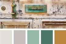 ~Kleurencombinaties~Kleuren~ / by Inge Geboers