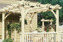 Garden Structures, Pathways & Decor / by Julie Andersen