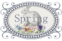 Holidays✿ Spring into Easter! / Spring time and Easter favorites!   He is Risen! And I love all bunnies, lambs and spring things! / by Colette Ladbrook CTMH Consultant