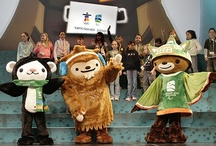 Olympic Mascots / The London Summer Games showcased to the world, among other things, some odd Olympic mascots. But they weren't the first. Check out our new Pinterest photo gallery of past and present mascots, including those from Calgary, Moscow, Atlanta and the upcoming Games in Sochi. 