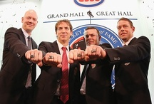 Hockey Hall of Fame Class of 2012 / Photos of the Hockey Hall of Fame Class of 2012 during their time in the NHL, including Joe Sakic, Mats Sundin, Pavel Bure and Adam Oates. / by CBC Sports