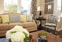Living Room Ideas / by Katie Studer