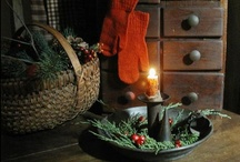 Christmas in the Country / While a city dweller for the past 20 years, my heart always responds to images of the holidays spent in more rural settings.  Memories of childhood come rushing in... / by Benjamin Bradley