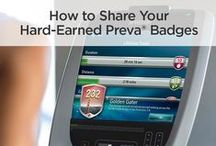 How to Share Preva® Badges / by Precor
