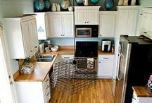 Be the STAR of your Kitchen / Part of the enjoyment of cooking can be the surroundings in which you are doing it. This board highlights some beautiful kitchens we have seen. / by STAR Fine Foods