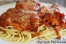 Food: Pasta and Italian. ish. / by Tina Harmuth