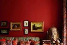 Red Wall Color / by Jean Molesworth Kee