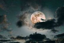 The Moon ☾ & ☆ The Stars ☆ / & other beautiful wonders in the sky...  / by Stephanie C