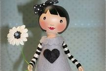 doll clothespin & ornament / by Susan Geither