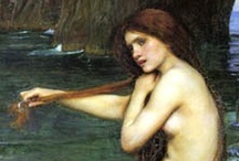 ♥ Arty Stuff / My favourite artists are Waterhouse and Wyeth.  I have Pinned some of my favourite pics of theirs here.  There's also lots other arty things I like here too. xx / by Kitty