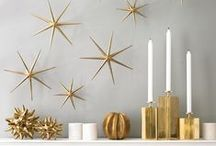 Deck the Halls / All the fabulously festive holiday décor you'll need this season. Think garlands, ornaments, vases, tree toppers, candleholders & more. / by DwellStudio