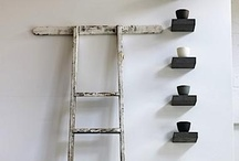 Ladders / by Sarah @ Cozy.Cottage.Cute.