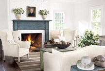 Fireplace / Mantle Ideas / by Sarah @ Cozy.Cottage.Cute.