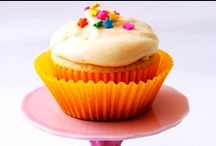 Creative Cupcakes / Cupcakes are our favorite food. Check out all of these fun cupcake recipes (even a few boozy ones) and try to resist eating them for breakfast! / by Celebrations.com