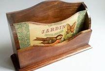crafts / Estes trabalhos não foram feitos por mim. As imagens servem apenas como inspiração. A maioria foram retiradas do site www.elo7.com.br ou da internet / by Rita Moretto