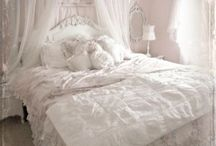 My House Ideas / Shabby chic, repurposed, feminine and soft. / by Betsy Modglin