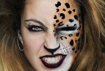 """Make-up """"déguisement/artistique"""" / by Mélanie"""