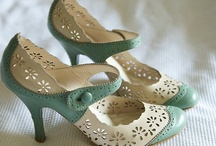 My feet should be so lucky. / I take my shoes in a size 9.5 please.   / by Kim Hannan