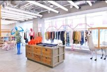 Retail Boutiques &  Visual Merchandising Display Ideas / by The Prancing Fox/ Christine McLaughlin