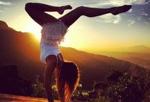 Work-out / Volley, Climbing, Yoga and Running :) / by Beatrice Ferrarini