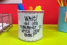 Classroom Ideas / by Anita Robinson
