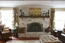 mantels / by Kathy Soffe