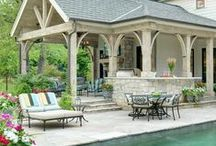 Outdoor Design (Patios, pools, gardens, etc) / by Courtney Covert
