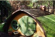 Outdoor Spaces / Treehouses, sheds, coops, and outdoor projects / by Katharine Cram