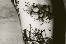 Tattoo lovely grayscale / by UMH studio