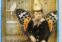 altered art / by Annie Barthelet